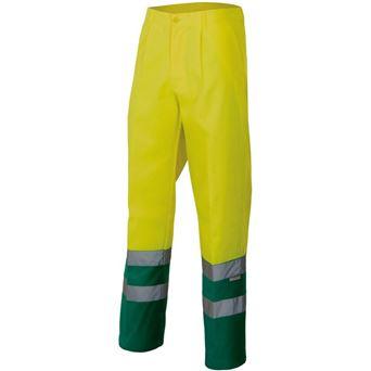 Pantalon av bicolor 158 velilla - 00005135-AM-V