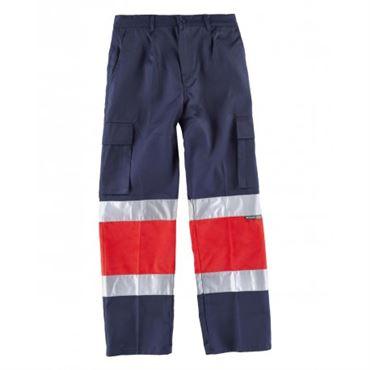 Pantalon av bicolor c4057 workteam