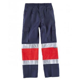 Pantalon av bicolor c4057 workteam - 00008775