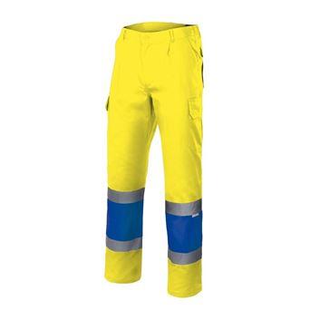 Pantalon av bicolor forrado 156 velilla - 00008241-AF-AZ