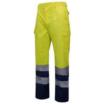 Pantalon av multibolsillos bicolor 303001 velilla - 00008005-AM-M