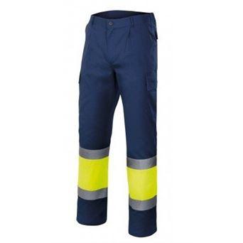 Pantalon av multibolsillos bicolor 303003 velilla - 00008517