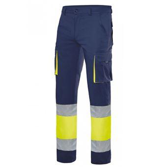 Pantalon av stretch 303002s velilla - 00007028-AN-AF