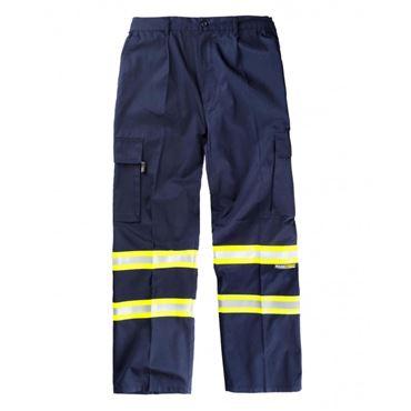 Pantalon bicolor b1436 workteam