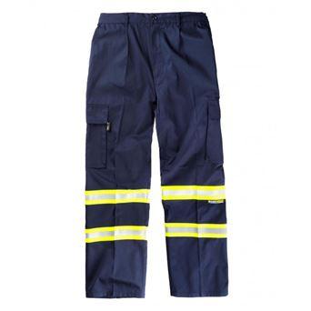 Pantalon bicolor b1436 workteam - 00008268-M-AM