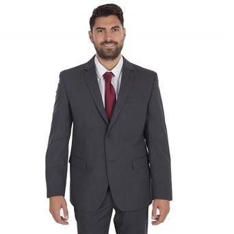 Americana hombre regular fit confort 8123 garys talla grande - 00008642-GRI-MAR