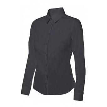 Camisa mujer m/l stretch 405002 velilla - 00007034-NEG