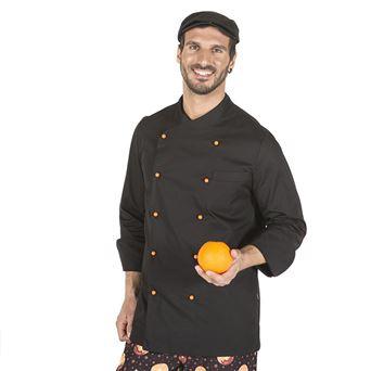 Chaqueta cocina hombre niza 9304 garys - 00006816-NEG